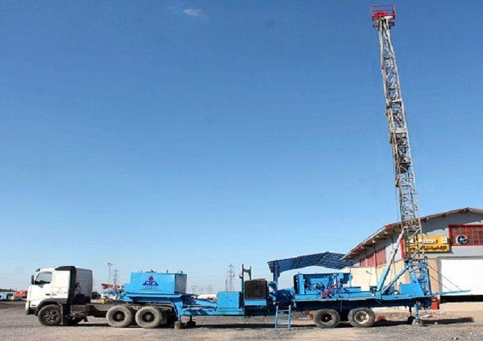 راهاندازی دکل مکشی ۱۰۴ در مناطق نفتخیز جنوب