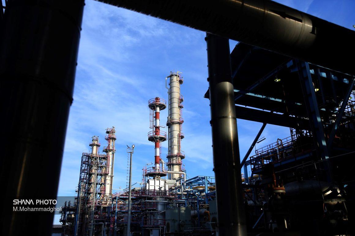 پالایشگاه نفت لاوان به روایت تصویر