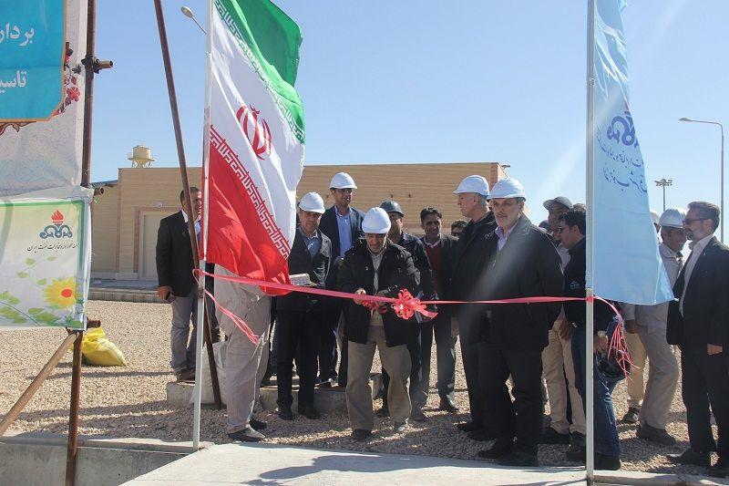 افتتاح تأسیسات جدید انتهایی انتقال نفت کرمان