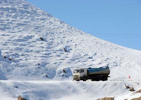 سوخترسانی مطلوب در مسیرهای سختگذر برفی منطقه همدان