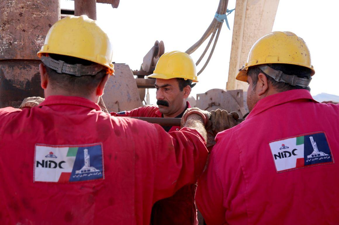 ملی حفاری ۷ حلقه چاه نفتی در خارک را تعمیر کرد