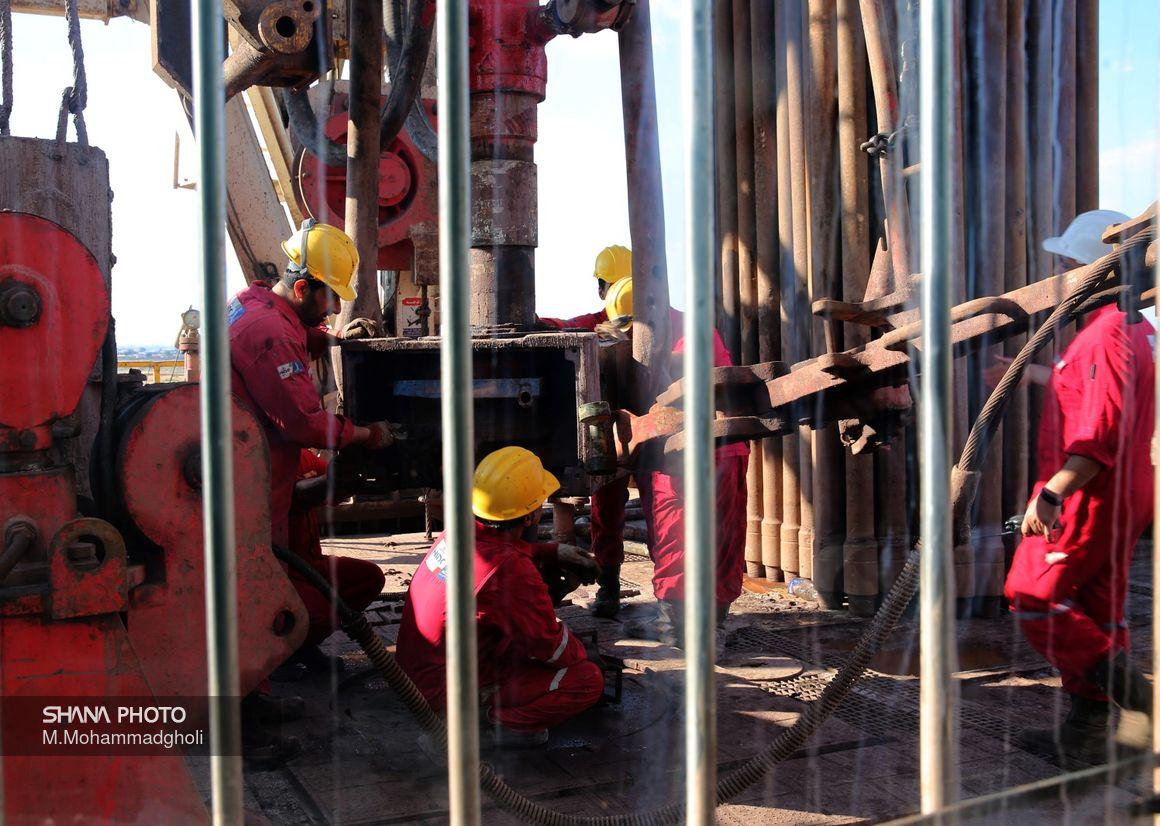 ملی حفاری ۱۱۷ حلقه چاه نفت و گاز حفر و تکمیل کرد
