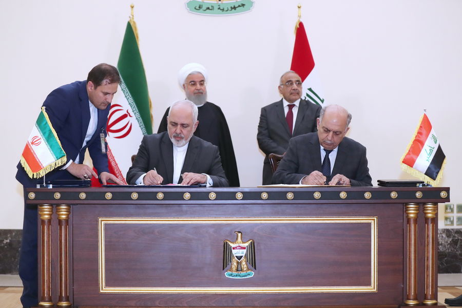 Iran, Iraq Ink Oil Agreements