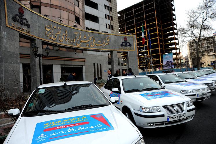 خودروهای طرح بازدید نوروزی