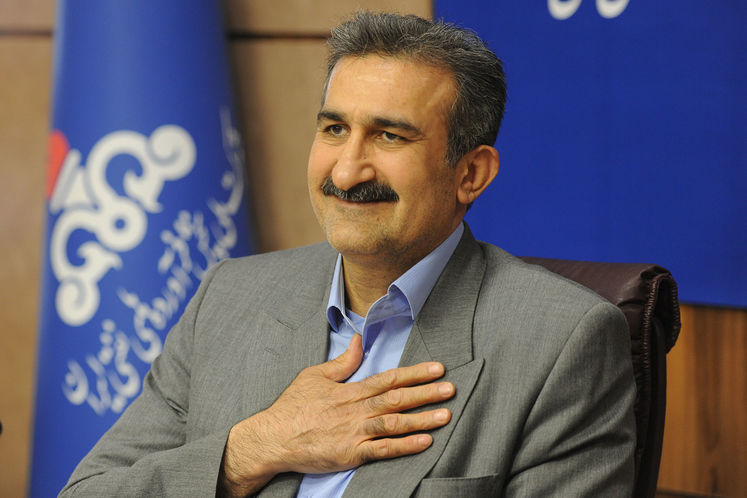 محمدرضا موسوی خواه،مدیرعامل شرکت پخش فرآورده های نفتی ایران