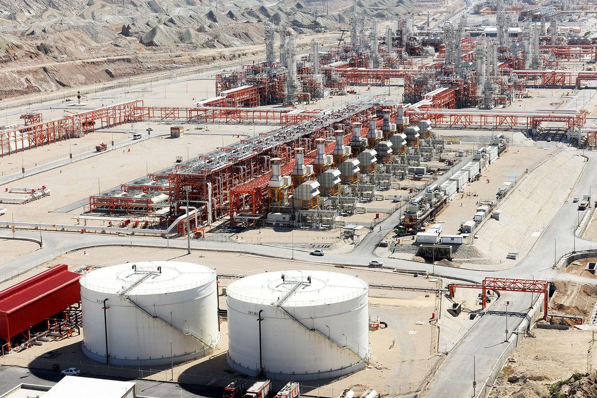 ظرفیت ذخیرهسازی مخازن میعانات گازی پارس جنوبی به ۳.۵ میلیون بشکه رسید