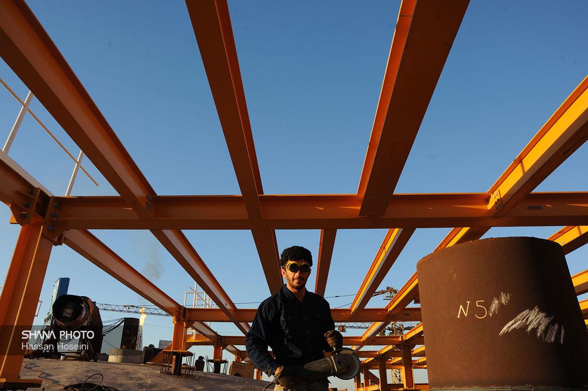 واحدهای جانبی پالایشگاه فاز ۱۴ پارس جنوبی امسال راهاندازی میشوند