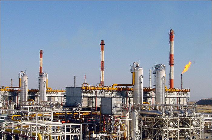 افزایش فروش میعانات گازی در پالایشگاه گاز ایلام