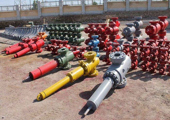 تعمیر شیرآلات و تسهیلات سرچاهی در مناطق نفتخیز جنوب