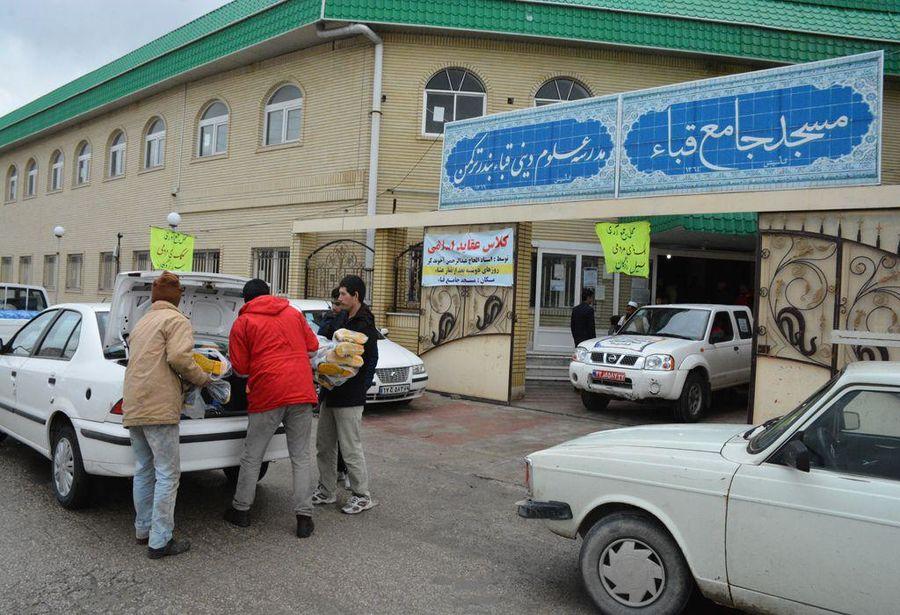 کمکهای شرکت نفت خزر به سیلزدگان گلستان