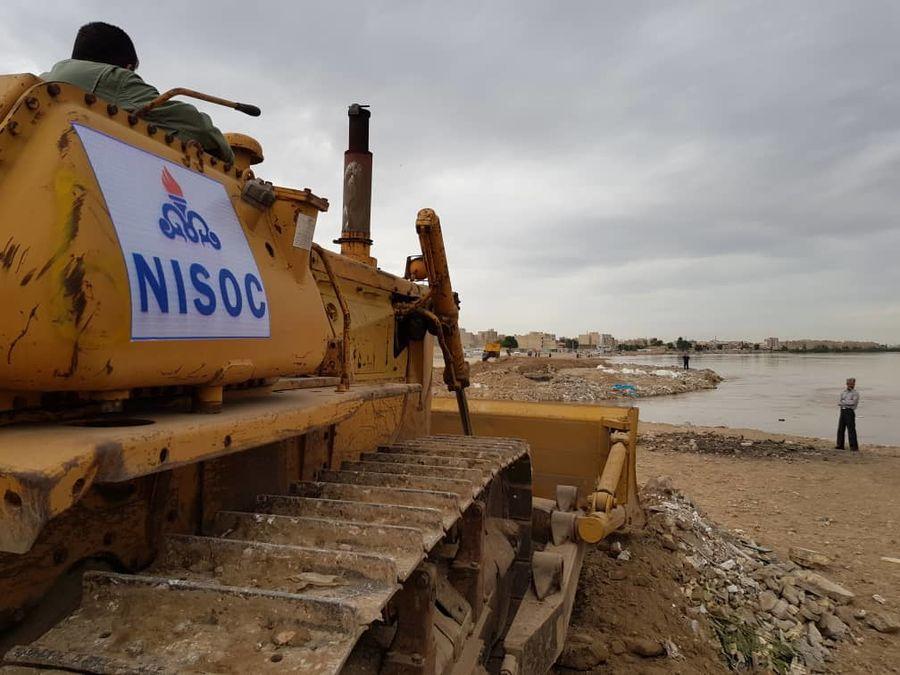 شرکت ملی مناطق نفتخیز جنوب؛ از ارکان اصلی امدادرسانی در سیل خوزستان