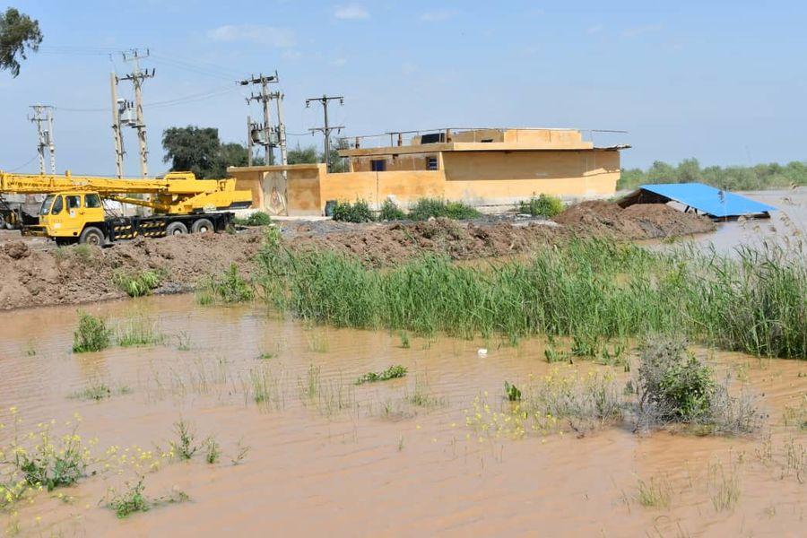 بسیج امکانات و تجهیزات ملی حفاری برای همکاری با ستاد بحران خوزستان