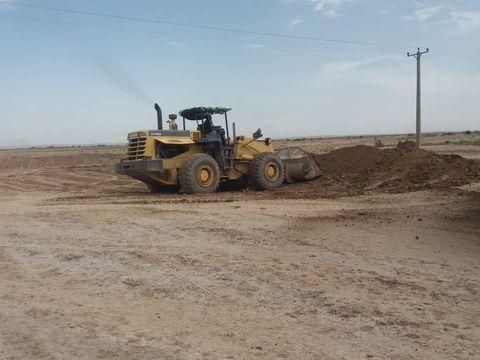حضور ماشینآلات شرکت نفت و گاز آغاجاری در مناطق سیلزده خوزستان