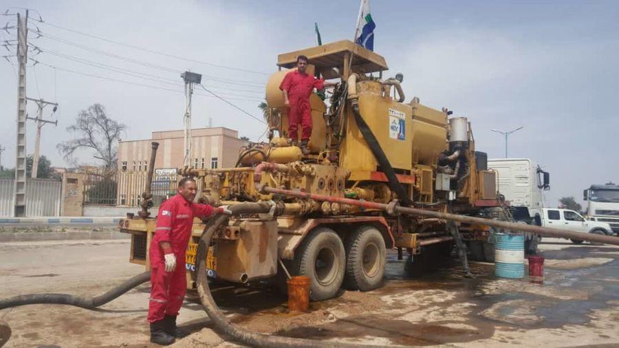 عملیاتی شدن دستگاههای پمپ تراک ملی حفاری برای جمعآوری آبهای سطحی