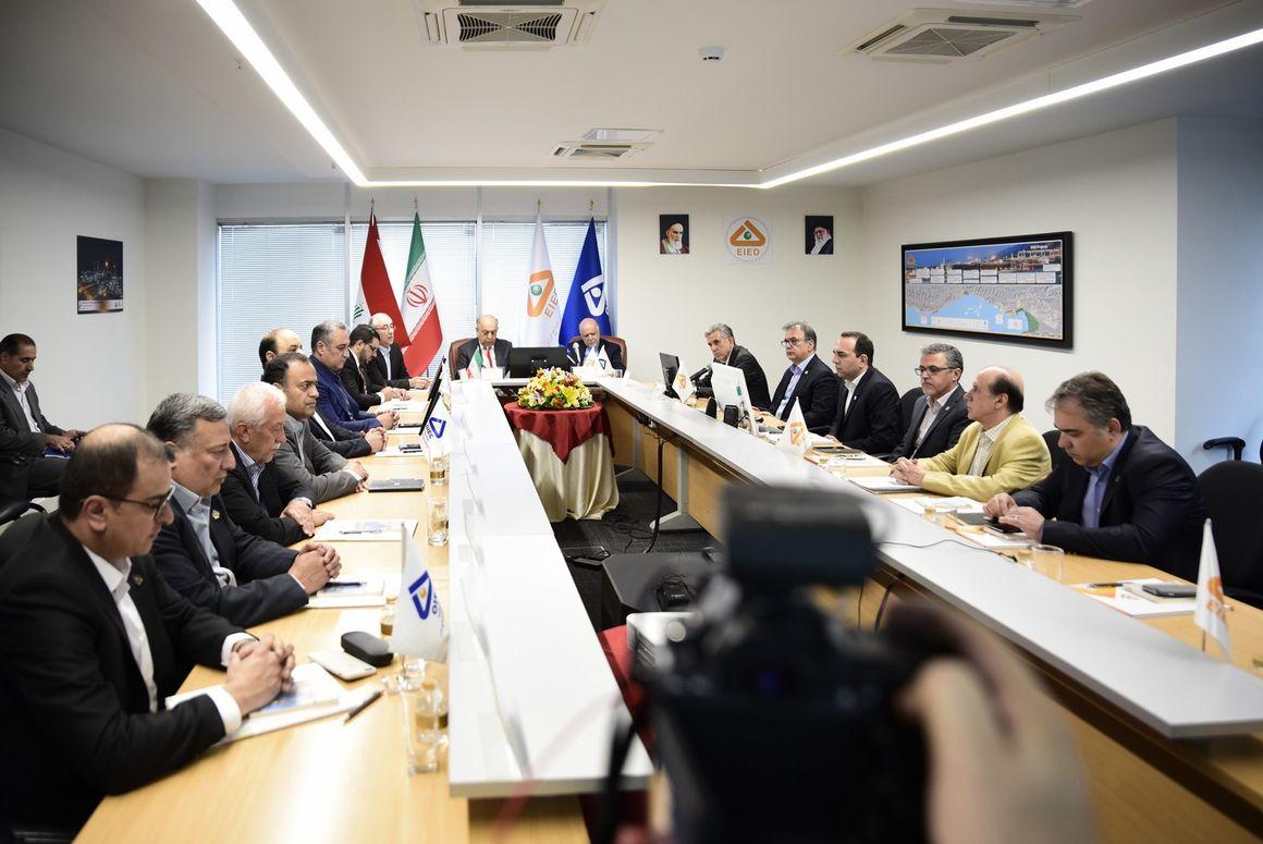 معرفی ظرفیتهای اویک در حضور وزیران نفت ایران و عراق