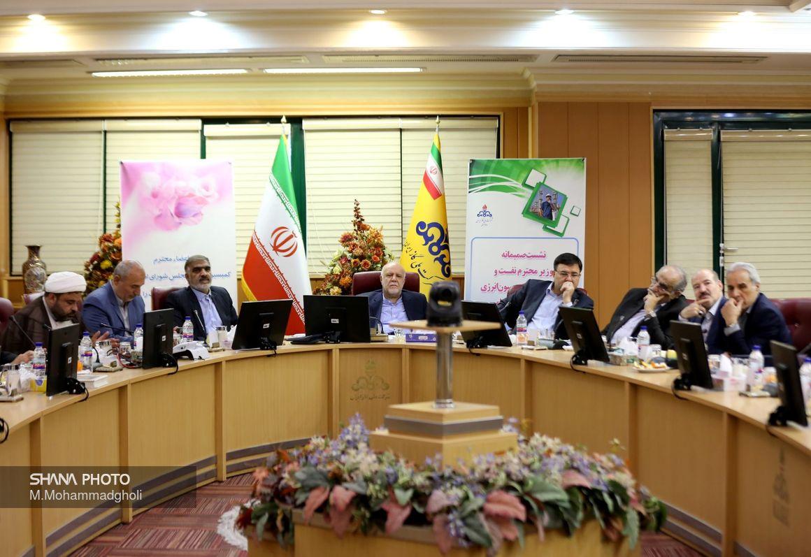 نشست وزیر نفت با نمایندگان کمیسیون انرژی مجلس