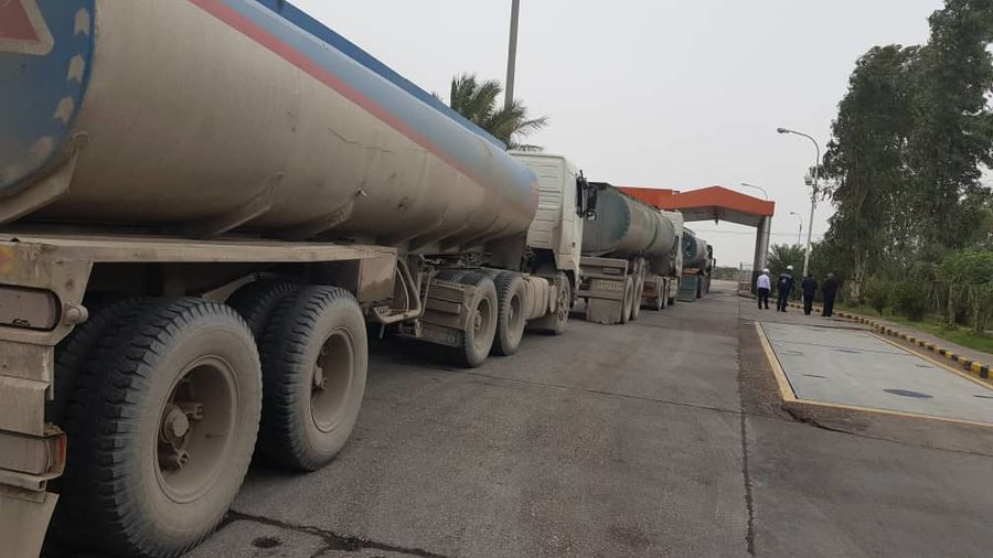 توزیع بیش از یک میلیون لیتر سوخت در مناطق سیلزده اهواز