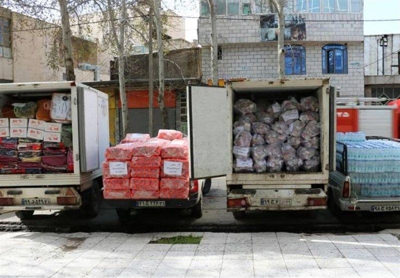 خدماترسانی منطقه خوزستان به سیلزدگان استانهای خوزستان و لرستان