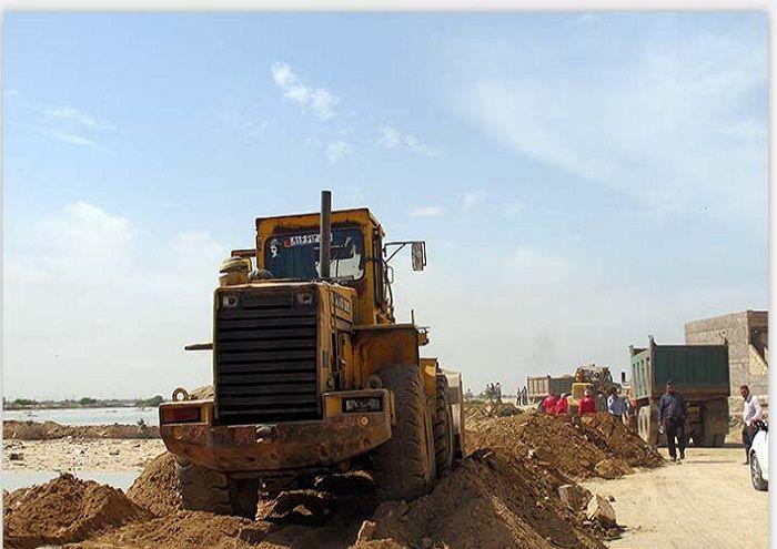 استمرار خدمات به ساکنان مناطق در معرض سیلاب خوزستان
