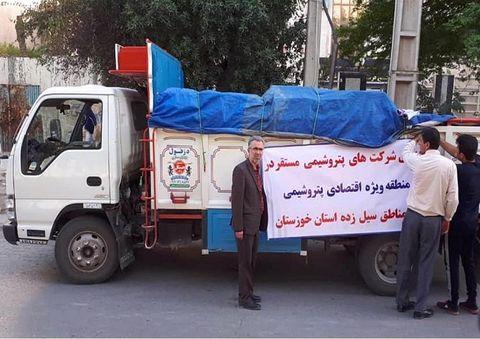 کمکهای نقدی و غیرنقدی پتروشیمیها به سیلزدگان خوزستان