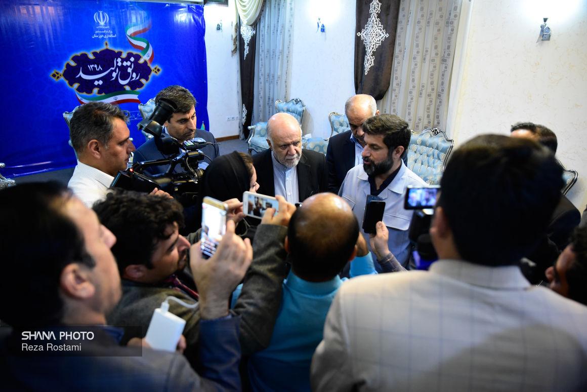 استاندار خوزستان: برخی اصرار دارند تولید نفت مختل شود