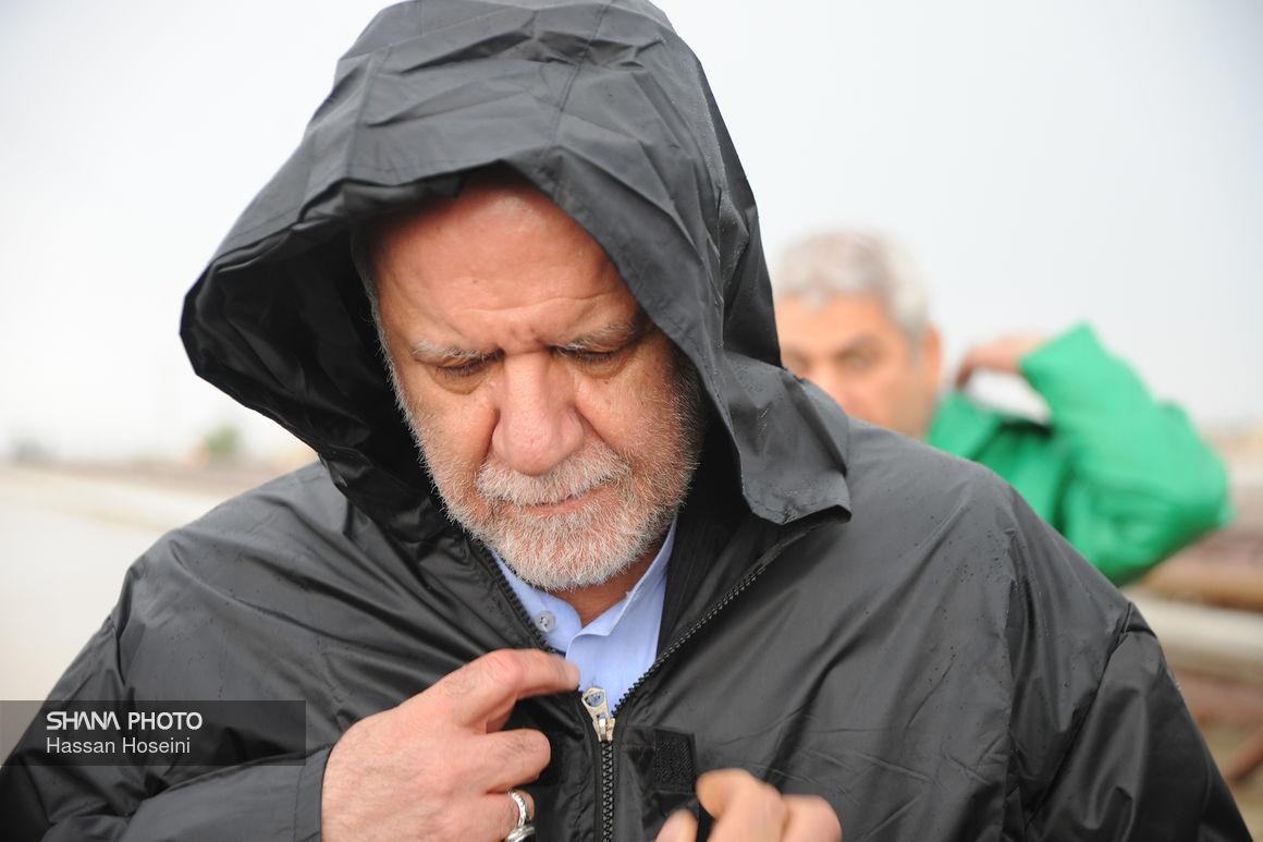 بازدید وزیر نفت از کریدور نفتی اهواز