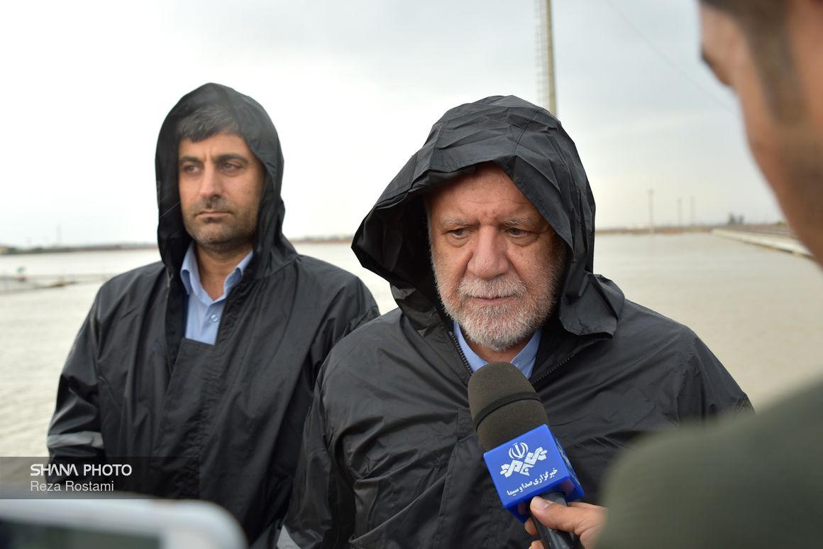 بازدید وزیر نفت از گذرگاه اهواز ۵