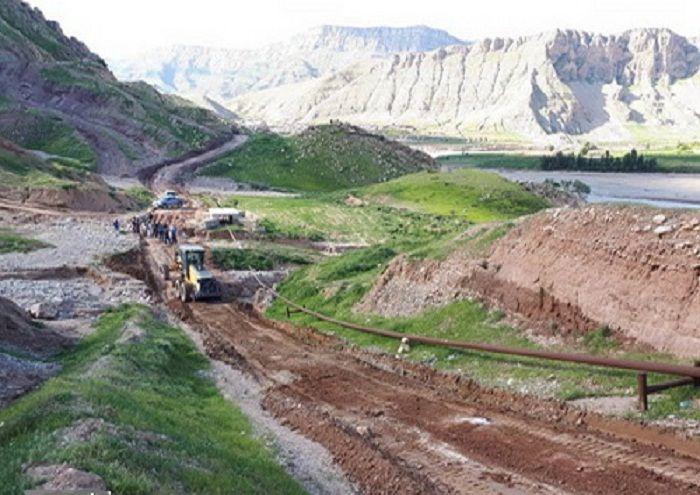 مسیرهای ارتباطی روستاهای مجاور منطقه عملیاتی سرکان بازگشایی شد