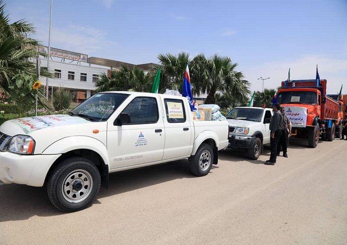 بسیج شرکت ملی نفت ایران در کمکرسانی به مناطق سیلزده