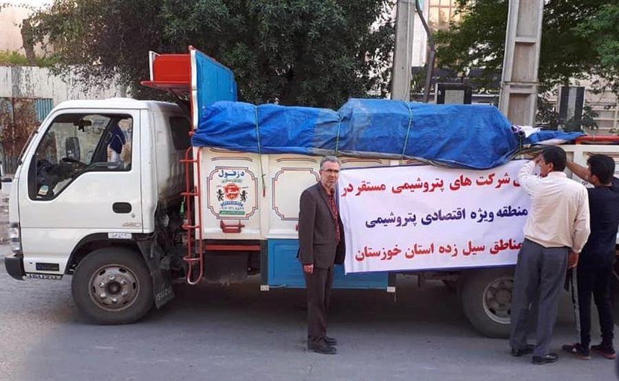 کمکرسانی پتروشیمیها به سیلزدگان