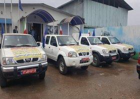 کمکهای کارکنان صنعت نفت جنوب در مناطق سیلزده توزیع شد