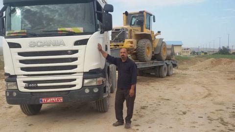 اعزام ماشینآلات سنگین شرکت نفت و گاز آغاجاری به شادگان