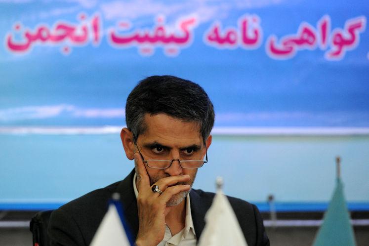 سعید محمدزاده،معاون مهندسی، پژوهش و فناوری وزارت نفت