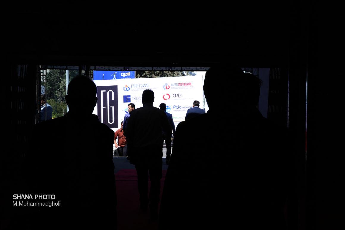 حاشیه نخستین روز بیست و چهارمین نمایشگاه بینالمللی ایران