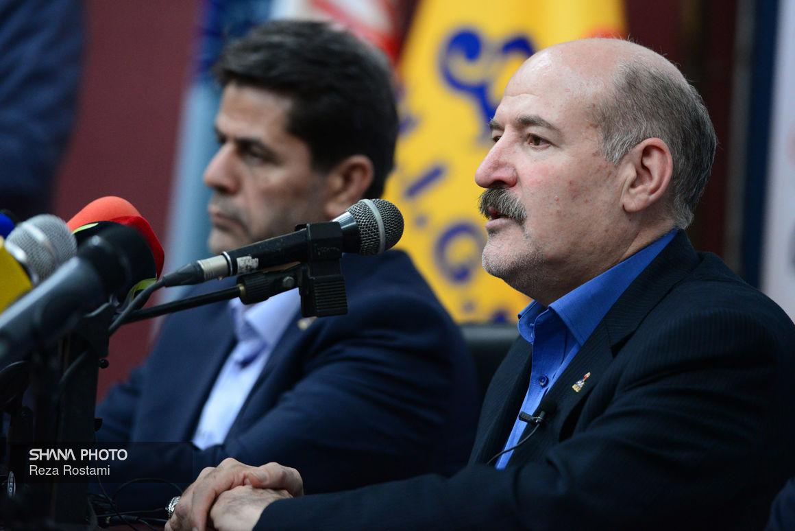 نشست خبری مدیرعامل شرکت ملی گاز ایران در بیست و چهارمین نمایشگاه نفت