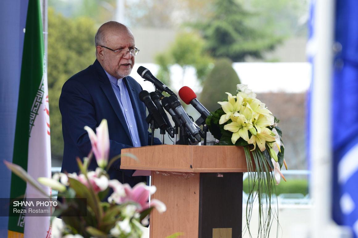 سخنرانی وزیر نفت در آیین گشایش بیست و چهارمین نمایشگاه نفت