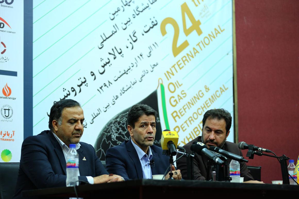 نشست خبری مدیر گازرسانی و مدیر هماهنگی و نظارت بر تولید شرکت ملی گاز