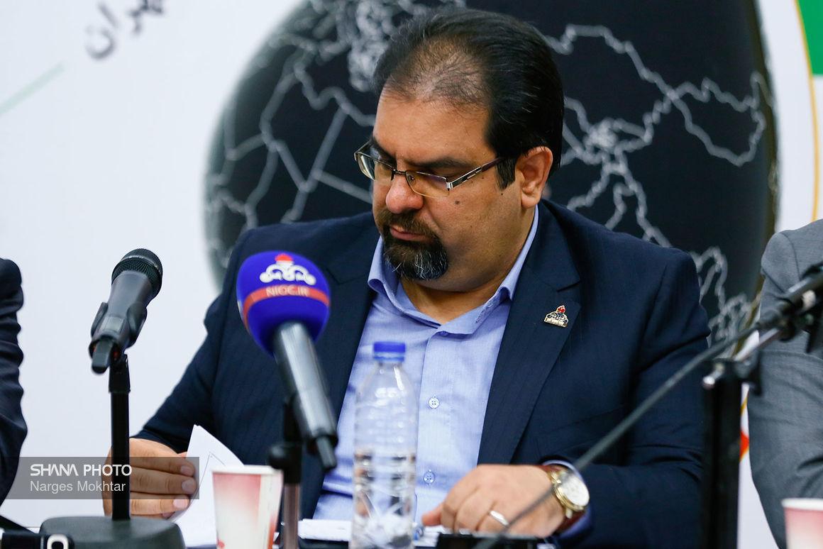 نشست خبری مدیرعامل شرکت انتقال گاز ایران