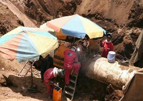 36-Inch Oil Pipeline Operational in Omidiyeh