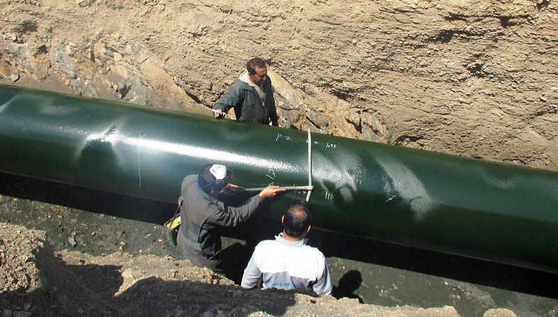 ترمیم خوردگی بیش از ۱۲۰ محدوده از خط لوله نفت مارون - اصفهان