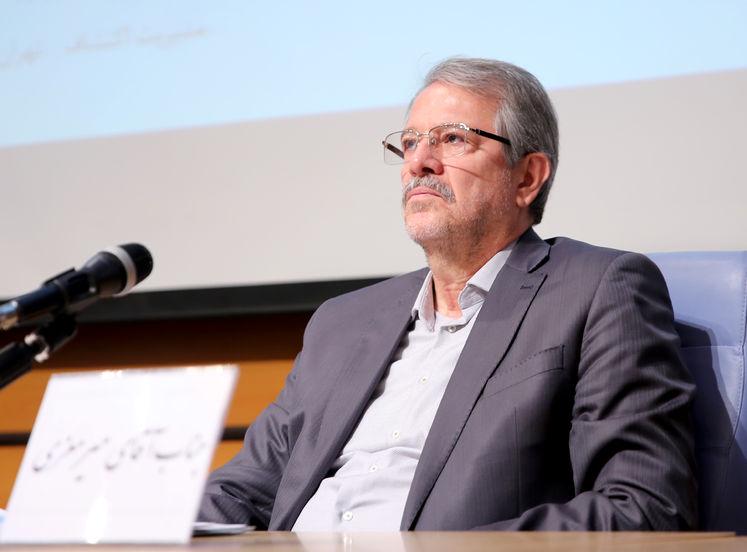 مهدی میر معزی، رئیس مجمع شرکتهای اکتشاف و تولید ایرانی