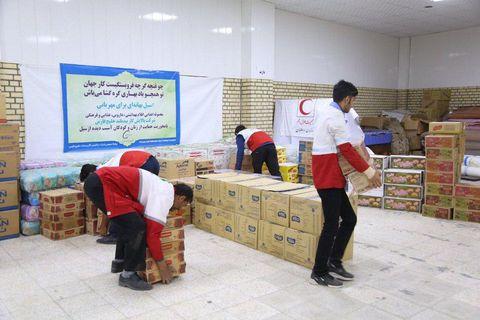 کمک مالی کارکنان شرکت پالایش گاز بیدبلند خلیجفارس به بازسازی مناطق سیلزده