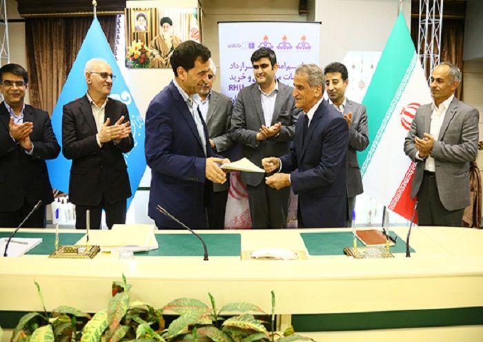 قرارداد ساخت واحد تصفیه نفت کوره پالایشگاه اصفهان امضا شد