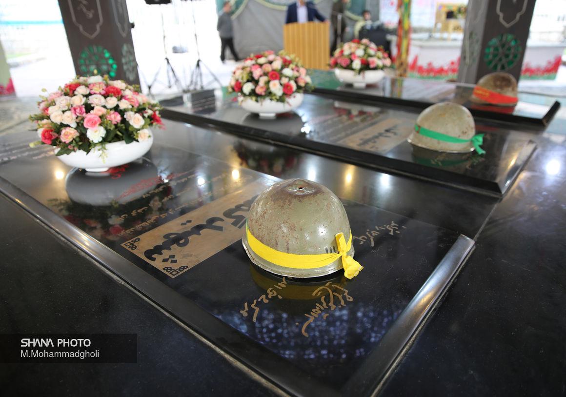نهمین یادواره تدفین شهدای گمنام وزارت نفت