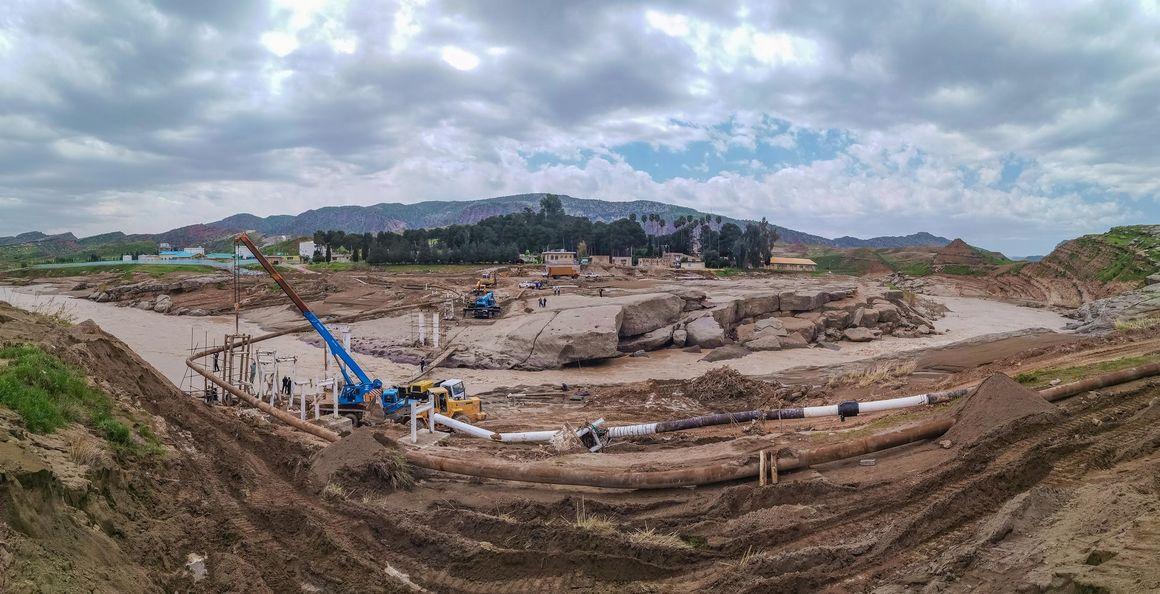 ۶۳ هزار نفر ساعت عملیات بدون حادثه در ترمیم خسارات سیلاب منطقه لرستان