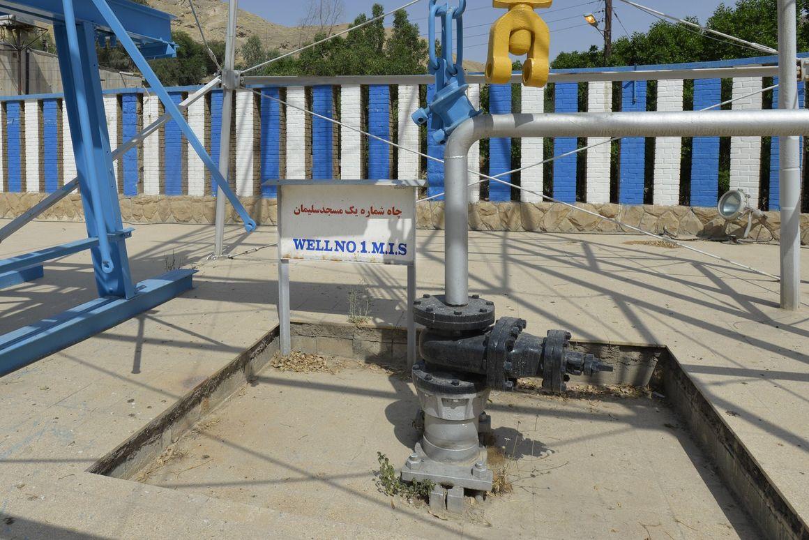 تعمیر شیرآلات چاه ۳۱۳ ژوراسیک مسجدسلیمان
