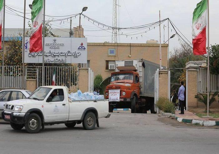 ارسال  ۶۰۰ بسته مواد غذایی به مناطق سیلزده خوزستان