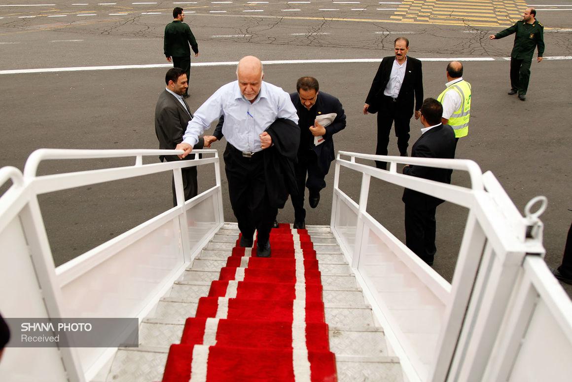 وزیر نفت تهران را به مقصد وین ترک میکند