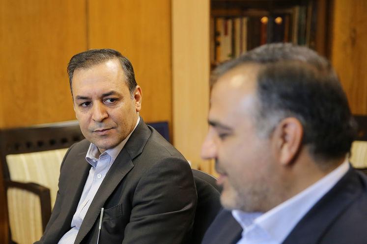 محمد ناصری، رئیس روابط عمومی شرکت ملی نفت ایران