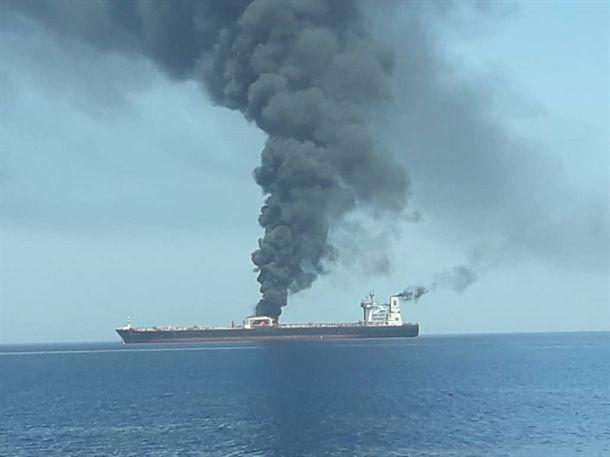 واکنش مقامهای ایرانی به حادثه نفتکشها در دریای عمان